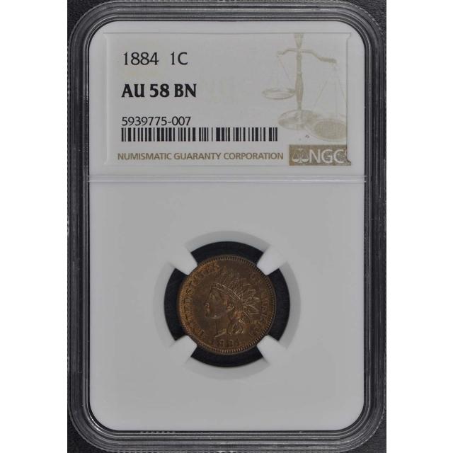 1857 Flying Eagle Cent 1C NGC XF45