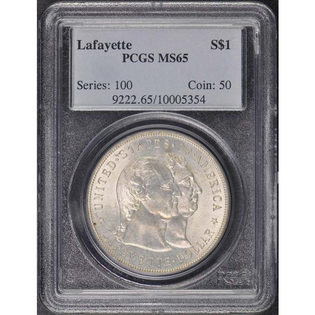 LAFAYETTE 1900 $1 Silver Commemorative PCGS MS65
