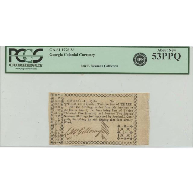 1810s $1 Pennsylvania Hulme Ville Haxby# OBSPA185G2 PMG 63 EPQ