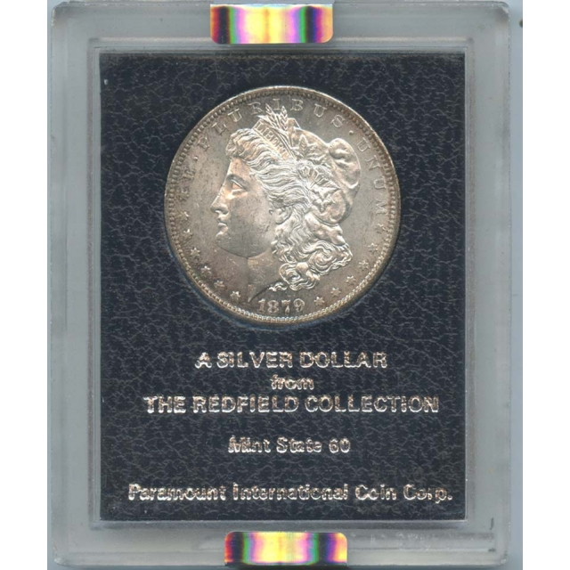 1879-S $1 Morgan Silver Dollar NGC MS 62 Redfield Collection