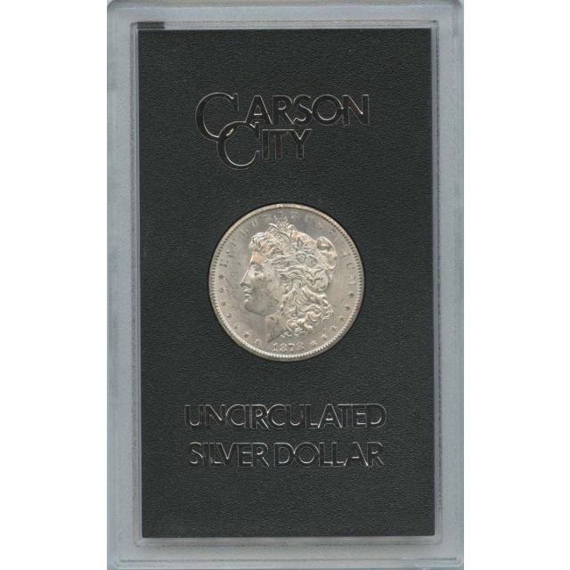 1878-CC Morgan Dollar GSA With Original Box Mint Card COA