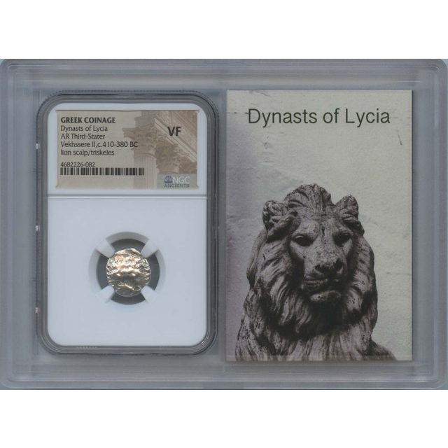Dynasts Lycia Vekhssere II 410-380 BC Third Stater NGC VF Story Vault