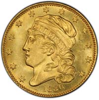 Five Dollar Gold 1795-1929