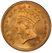 Liberty Gold Dollars 1849-1889