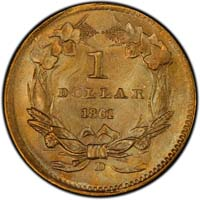 Southern Gold Dollars 1849-61