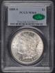 1885-S $1 Morgan Dollar PCGS MS64 (CAC)