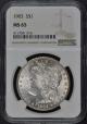 1903 Morgan Dollar S$1 NGC MS65