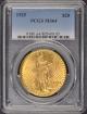 1925 $20 Saint Gaudens PCGS MS64