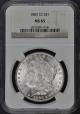1883-CC Morgan Dollar S$1 NGC MS65