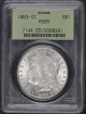 1883-CC $1 Morgan Dollar PCGS MS65 OGH