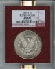 1895-S Morgan Dollar S$1 NGC MS62+ Redfield Collection