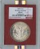 1897-S $1Morgan Silver Dollar Redfield Hoard NGC MS64