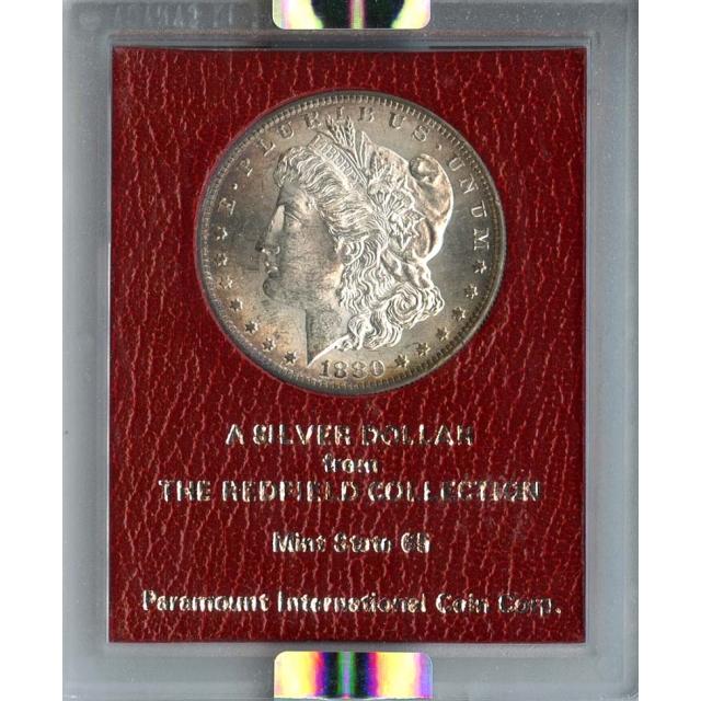 1880 S $1 Redfield Hoard Morgan Dollar NGC MS62