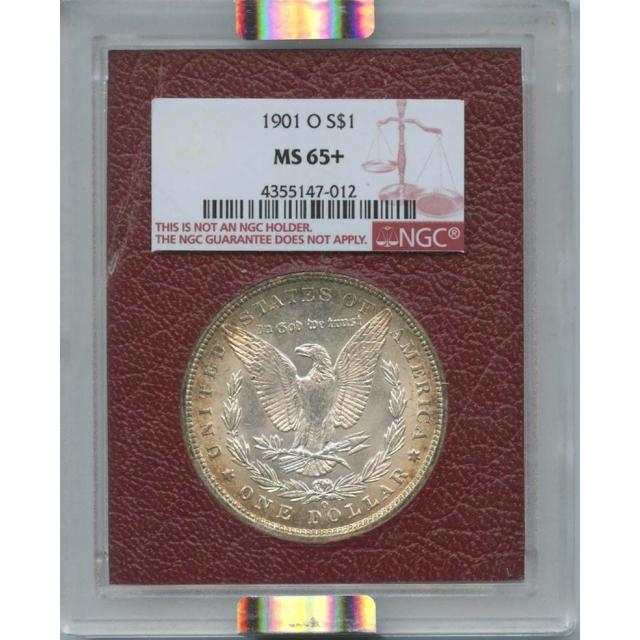 1901-O Morgan Silver Dollar Paramount NGC MS65+