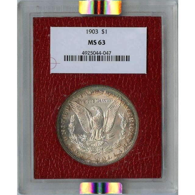 1903 Morgan Dollar S$1 NGC MS63 Paramount